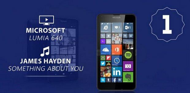 Microsoft Lumia 640 Shazam