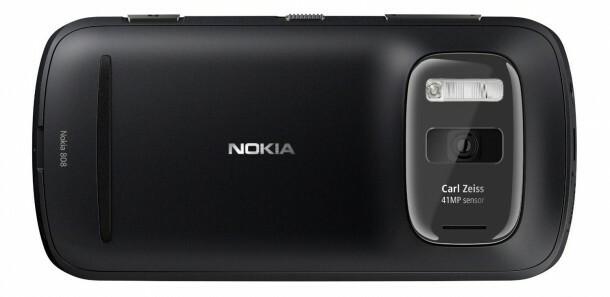 Nokia 808 PureView Noir