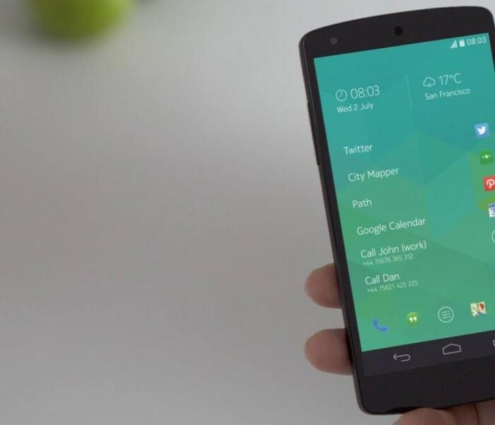 Mise à jour du Nokia Z Launcher pour Android avec des grandes icônes pour les grands écrans