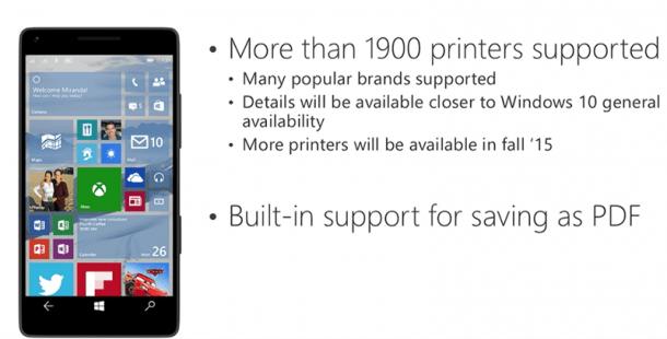 Windows 10 Print