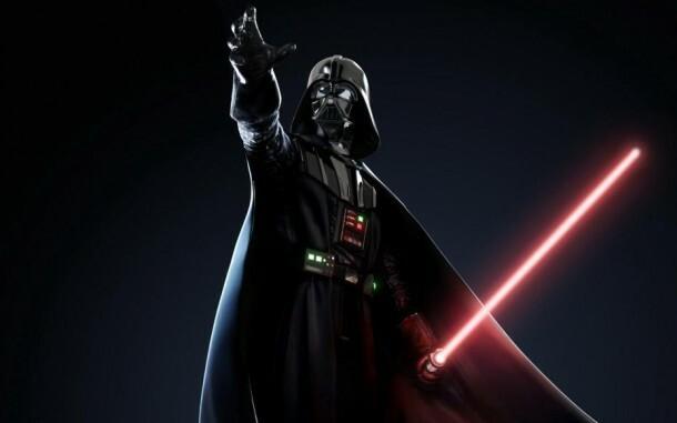 le-sabre-laser-rouge-de-dark-vador