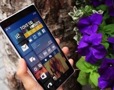 [W10]Captures d'écran et changements de Windows 10 Mobile Build 10136