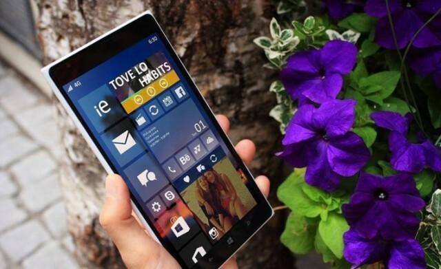 W10 captures d cran et changements de windows 10 mobile for Photo ecran w10