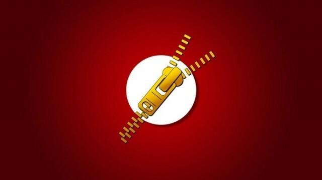 Flash Zip Rar Logo