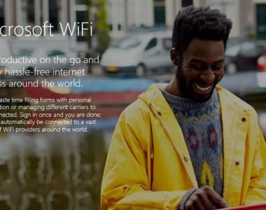 Microsoft WiFi intégré à Windows 10 Build 10158