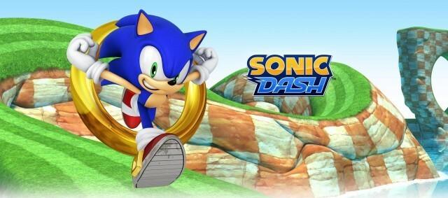 Sonic Dash Header