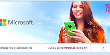 [Promo] Lumia 435, 635, 735 et 930 en promo sur vente-privée.com – expédition 72h