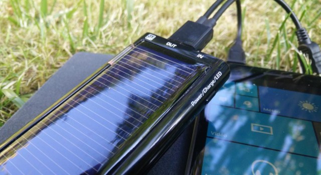 mini chargeur solaire Energenie Solargenie 1