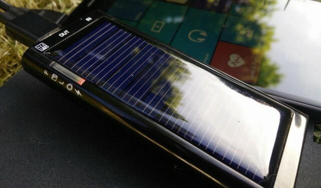 mini chargeur solaire Energenie Solargenie 2