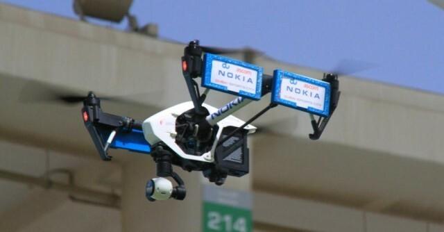 Drone Nokia Dubai