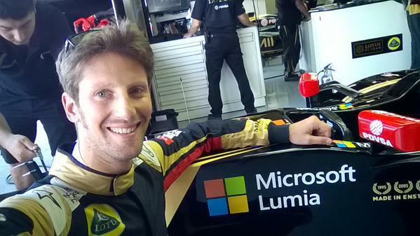 LOTUS F1 TEAM MICROSOFT LUMIA 0