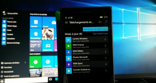 MaJ App Windows 10