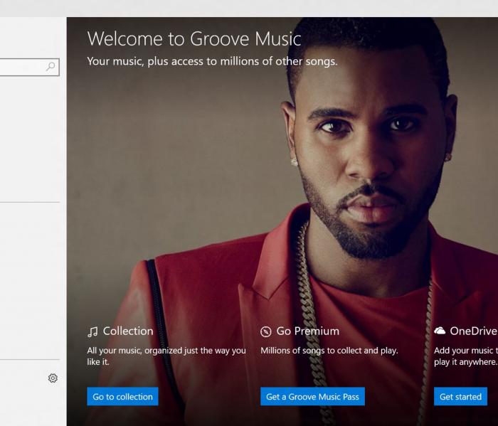 [Rebranding] Xbox Music devient «Groove Music» et Xbox Video devient «Movies & TV»