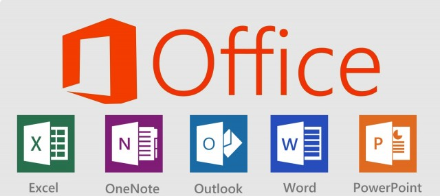 Office Excel OneNote Outlook Word PowerPoint