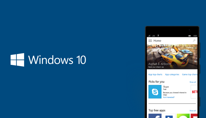[W10M]  Windows 10 Mobile Build 14291 en cours de déploiement en Fast Ring