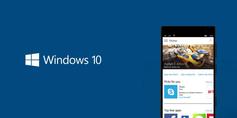 [W10M] Déploiement en cours de Windows 10 Mobile 10512 ...
