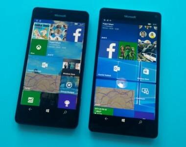 Pas de MVV sur certains modèles de Lumia 950 / 950 XL