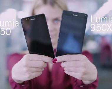 [Vidéo] Rapide comparaison entre le Lumia 950 et le Lumia 950 XL