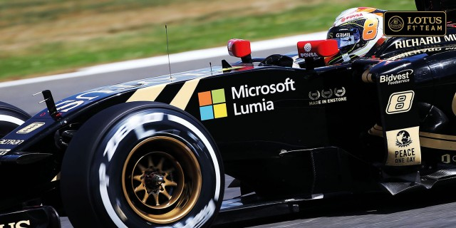 Microsoft-Lotus-F1-Team