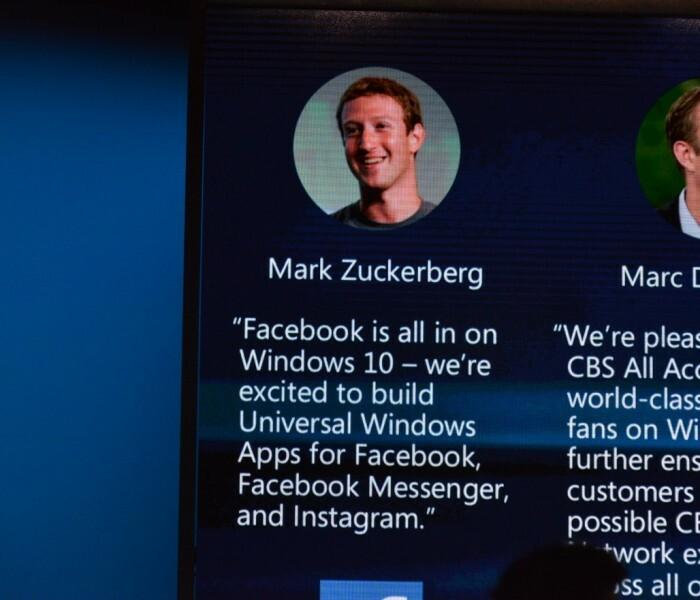 [Applications] Facebook désormais intégré intégralement à tout Windows