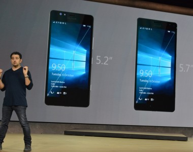 Microsoft annonce les Lumia 950 et Lumia 950 XL !