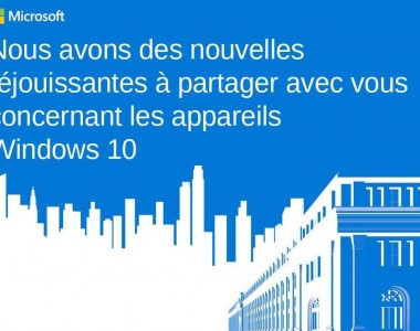 [Direct] Conférence Microsoft #Windows10Devices