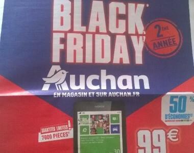[Promo] Lumia 635 à moins de 50€ chez Auchan