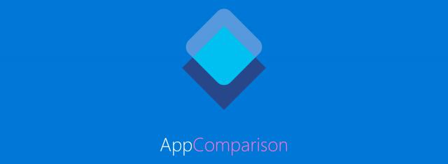 Microsoft AppComparison Google Android