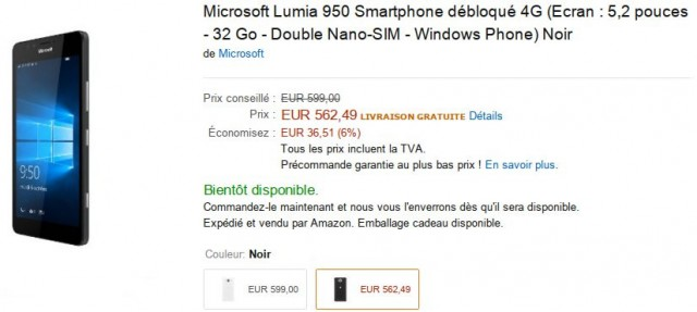 Microsoft Lumia 950 Amazon