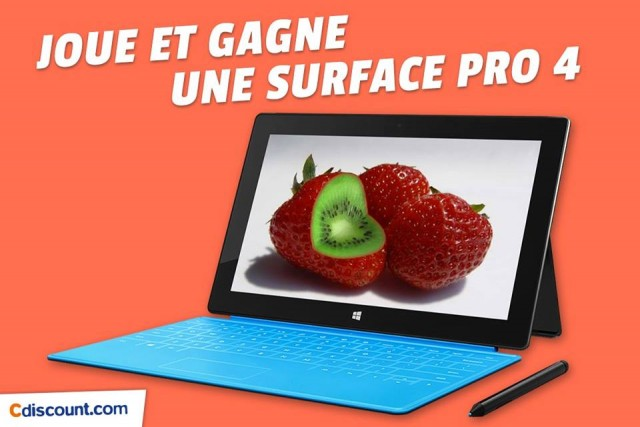 CDiscount Microsoft Surface Pro 4