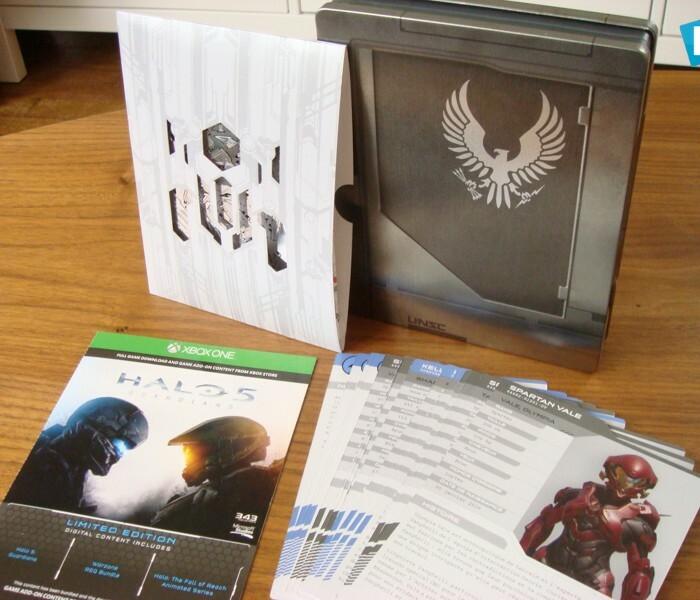 [Photos] La Xbox One édition limitée Halo 5