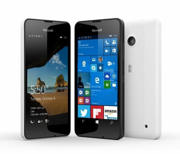 Lumia 550 / 630 / 640 ? Que choisir pour un petit budget ?