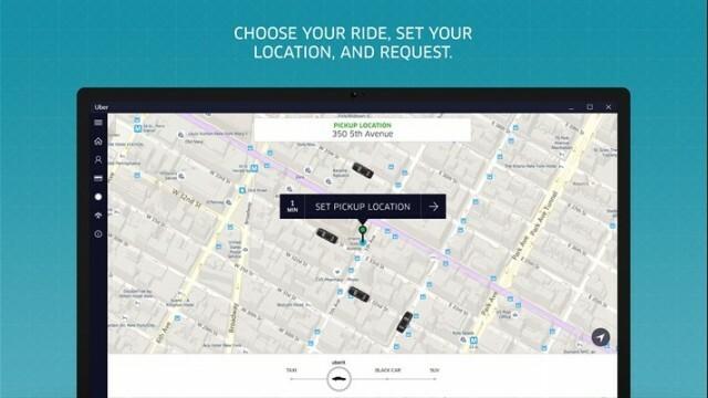 uber lance son application universelle windows 10 nokians la parole aux fans de nokia. Black Bedroom Furniture Sets. Home Design Ideas