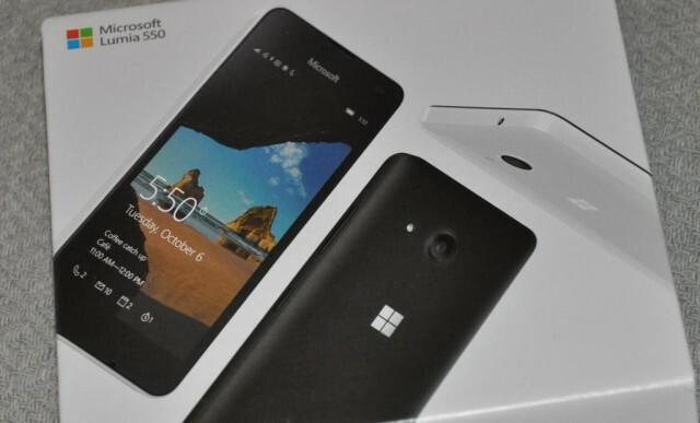 Microsoft Lumia 550 Boite
