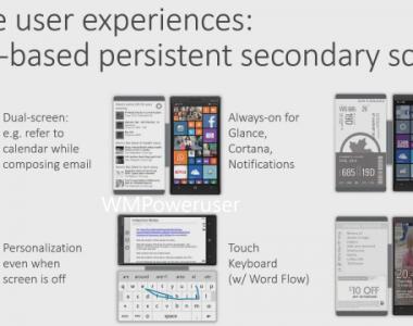 [Lab]  Microsoft Research imagine un étui à rabat avec écran intégré