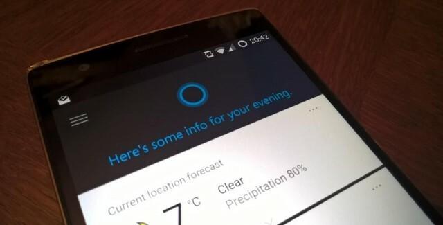 Oneplus One CyanogenMod Microsoft Cortana