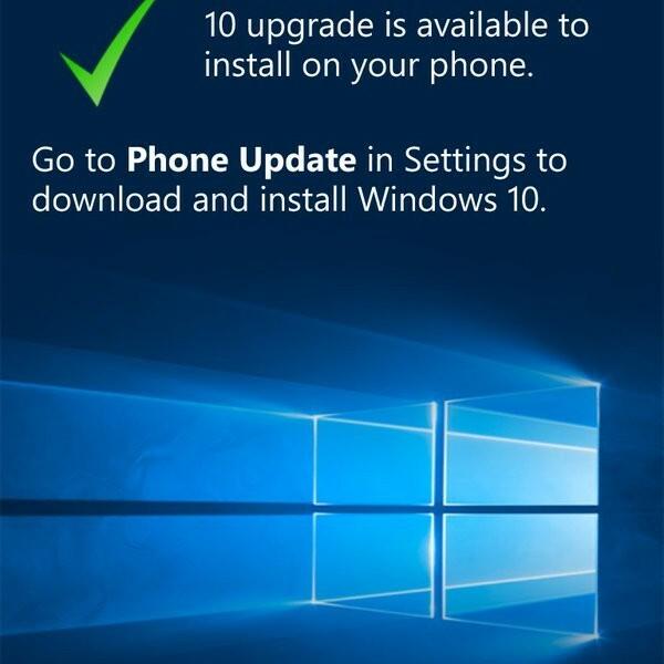 [App]  Microsoft Upgrade Advisor permettra de savoir si votre Lumia sera compatible Windows 10 Mobile