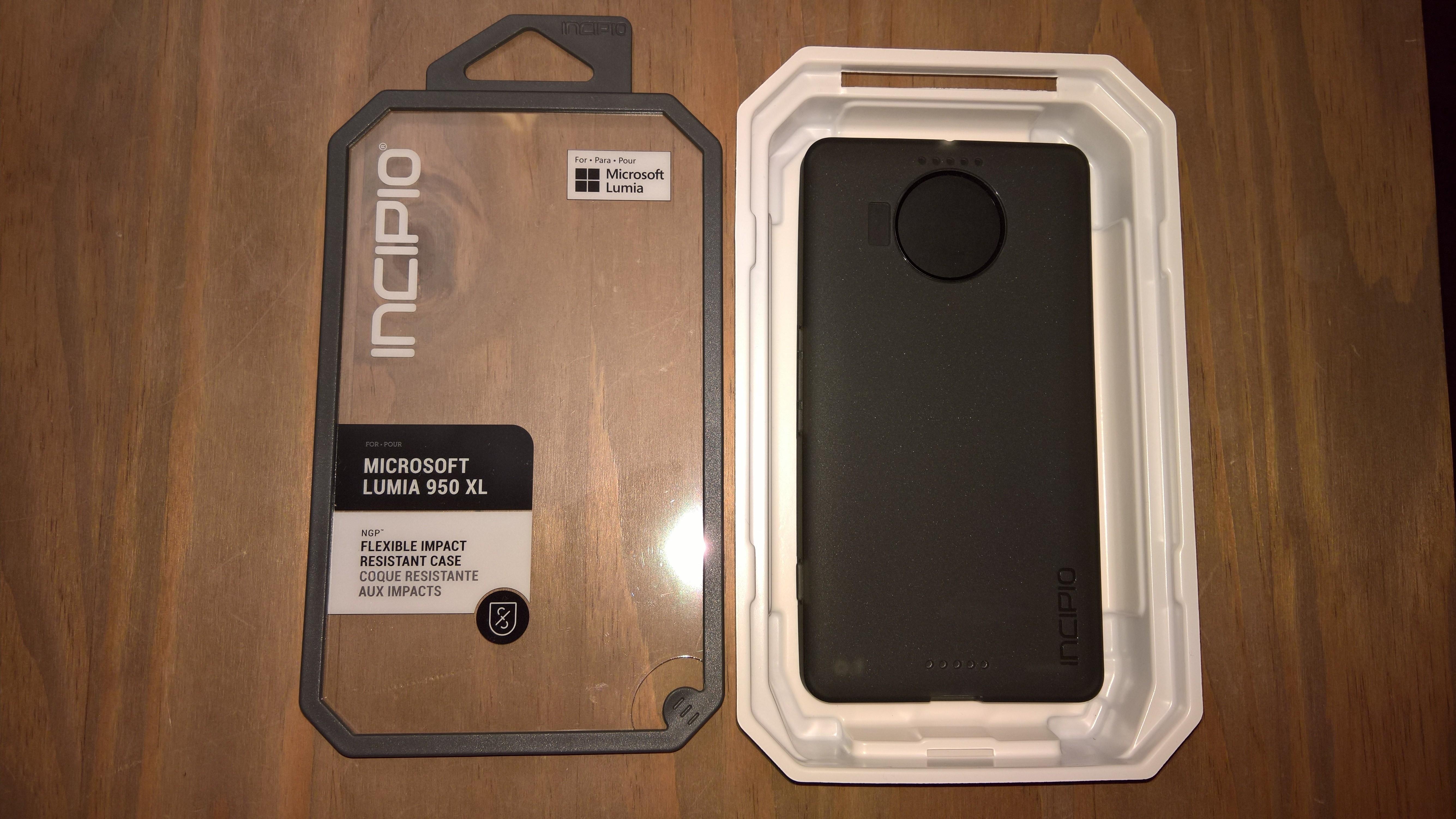 Test de la coque Incipio NGP pour Lumia 950 XL par @Billy ...