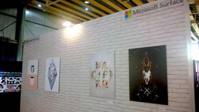 Art Up Lille 2016 Microsoft Surface 5
