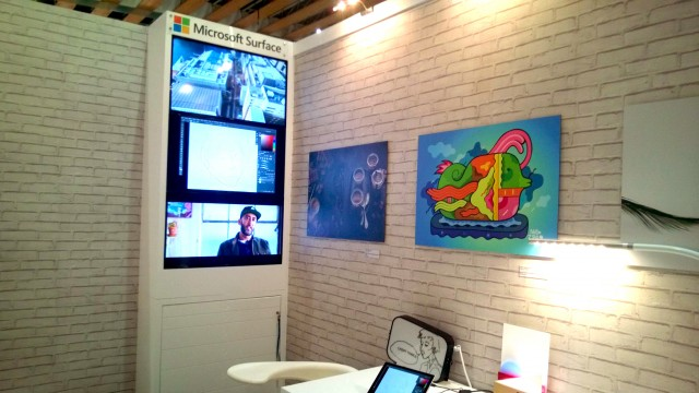 Art Up Lille 2016 Microsoft Surface 6