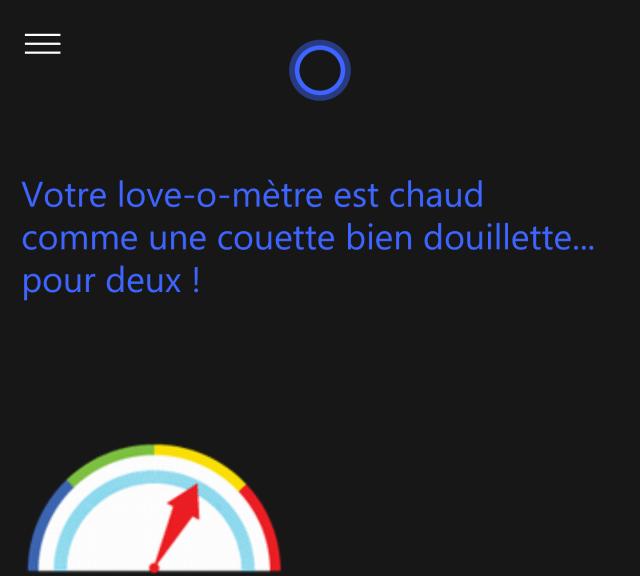 Cortana Saint Valentin