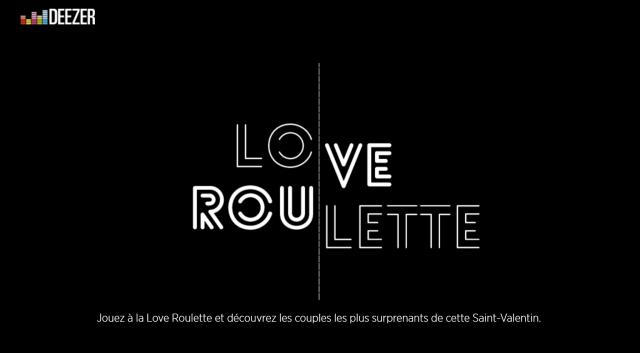 DeezerLoveRoulette