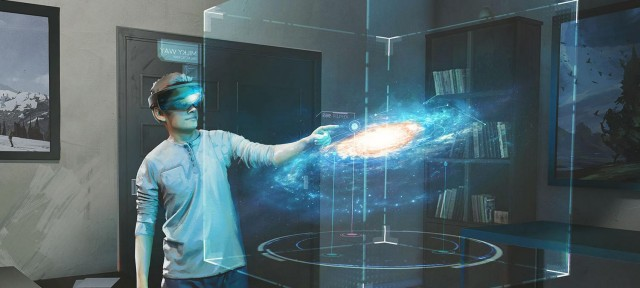 Explorateur Galaxie Hololens