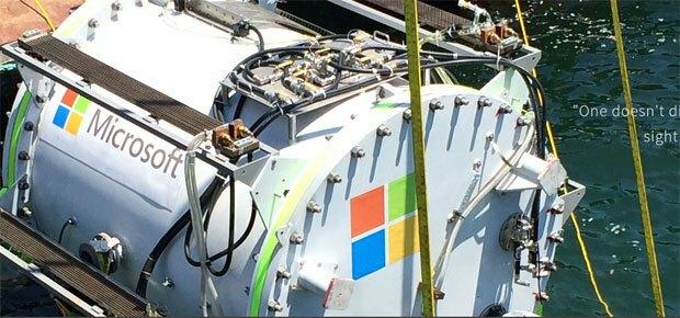 Microsoft a installé un data-center dans l'océan