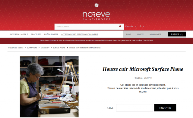 Noreve Microsoft Surface Phone