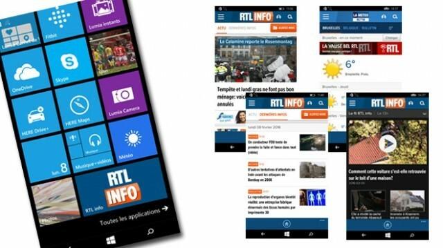 RTL Info Windows Phone 10