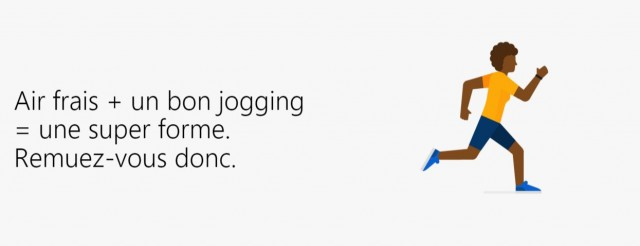 joging info