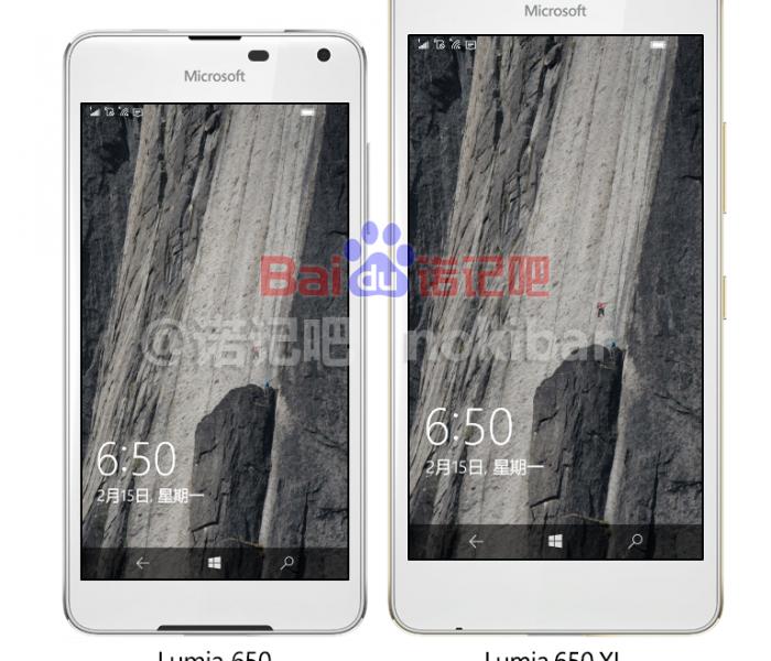 [Leak]  Le Microsoft Lumia 850 serait en fait le Lumia 650 XL