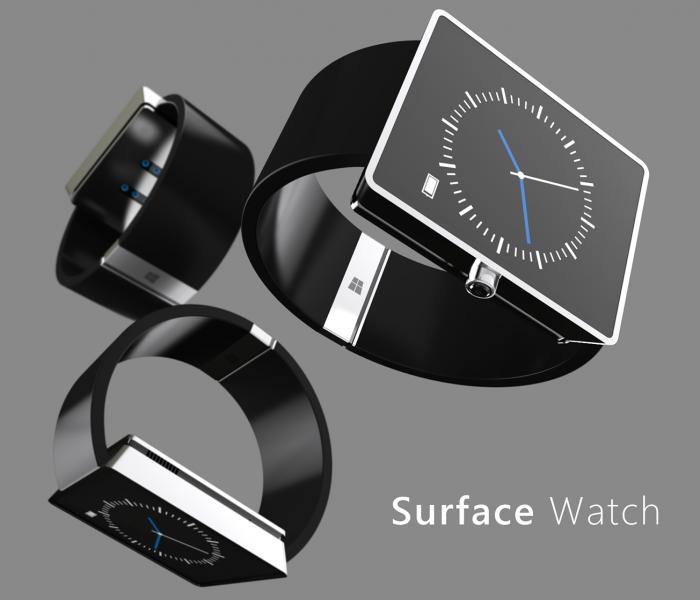 [Concept] Un designer nous présente sa vision de la Surface Watch