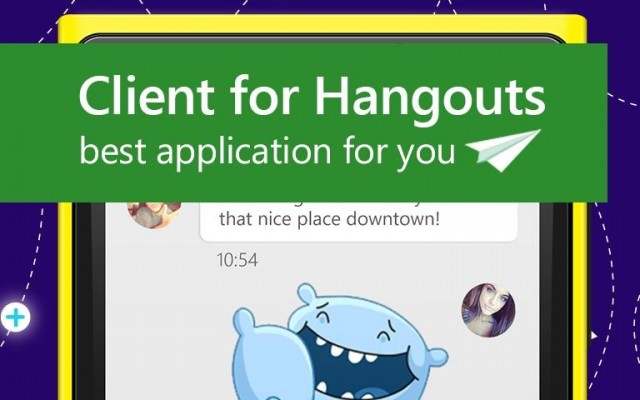 Client for hangouts windows 10